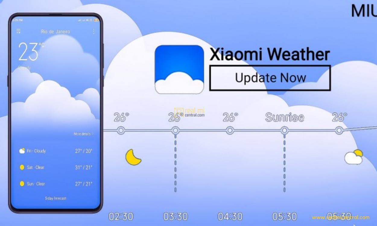 MIUI Weather App