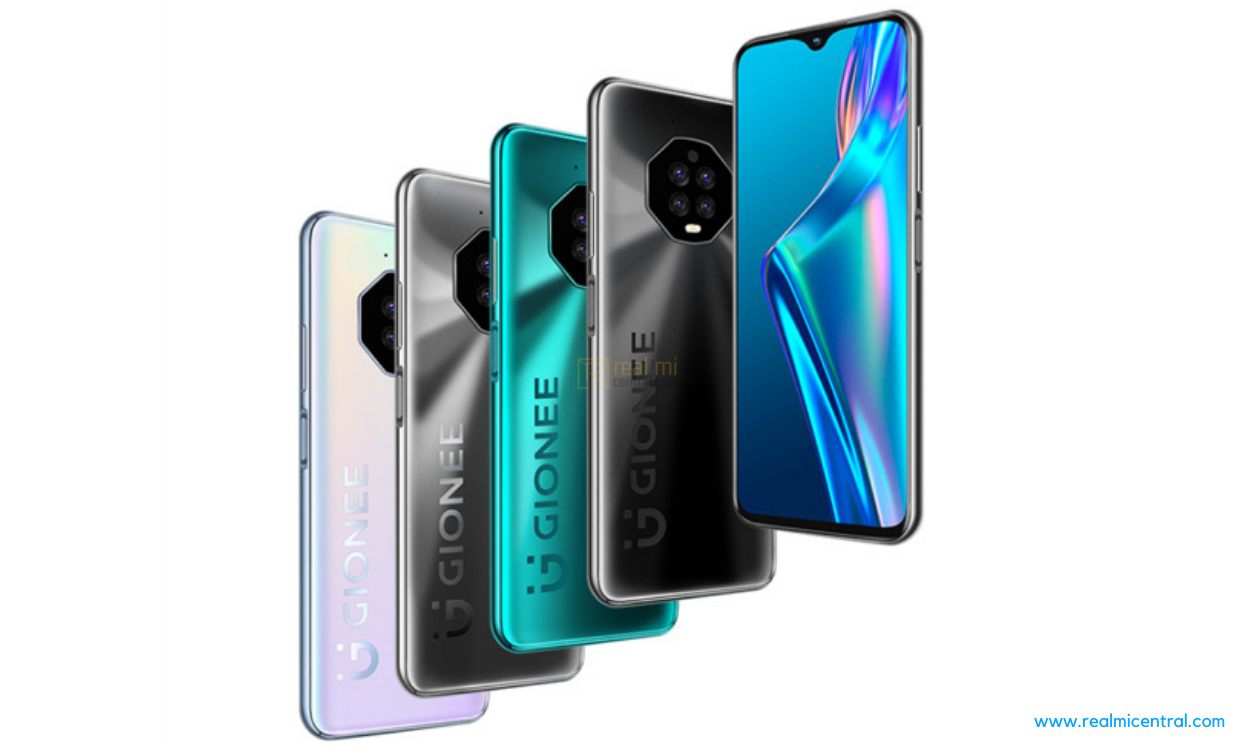 Gionee quietly released a new device, start at $137 - Real Mi Central